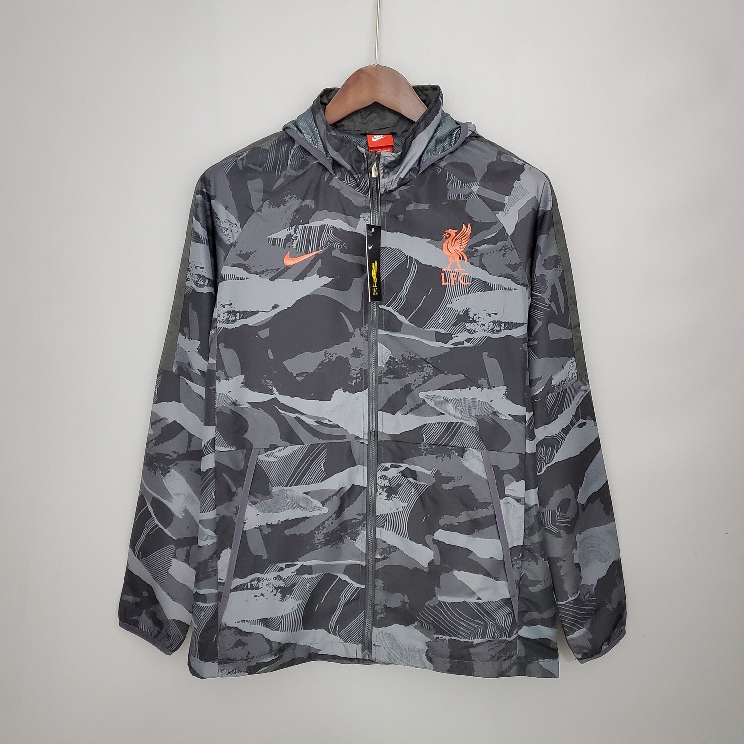 Liverpool Camouflage Windbreaker 2021-22 [Pre-paid Only]