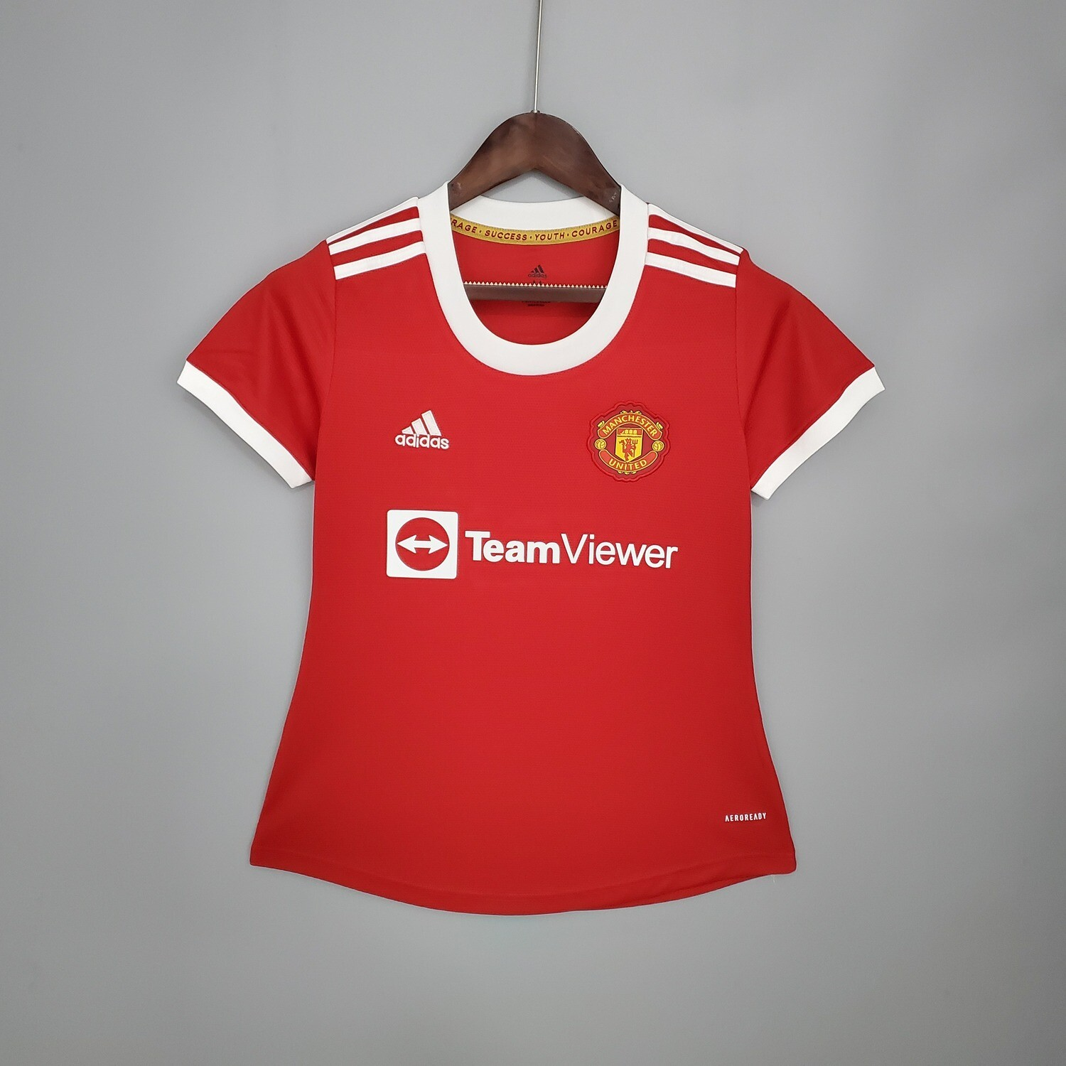 Manchester United Home 2021-22 Women's Jersey [Pre-paid Only]