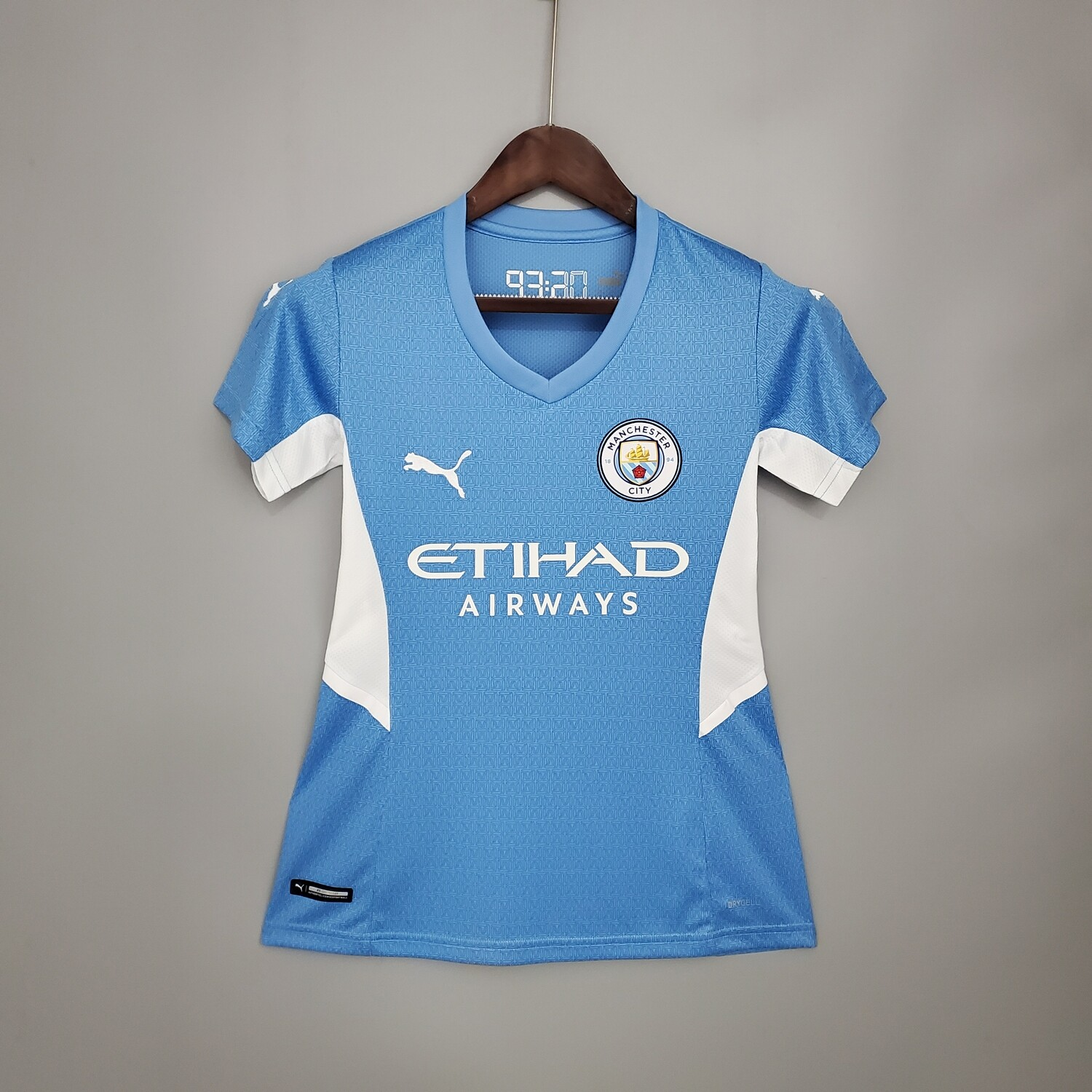 Manchester City Home 2021-22 Women's Jersey [Pre-paid Only]