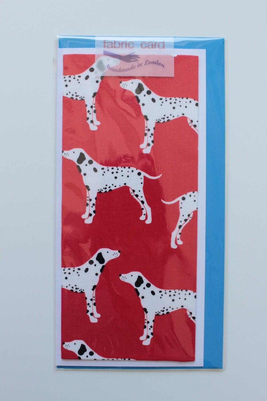 Fabric Card - Dalmatian