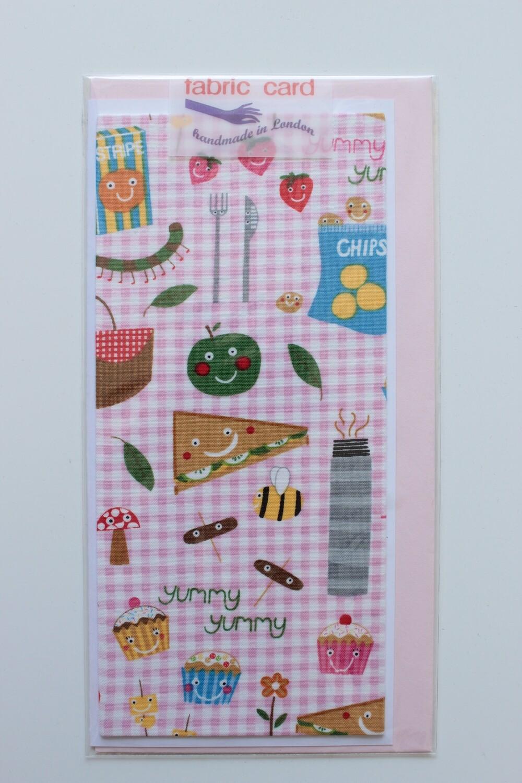 Fabric Card - Picnic