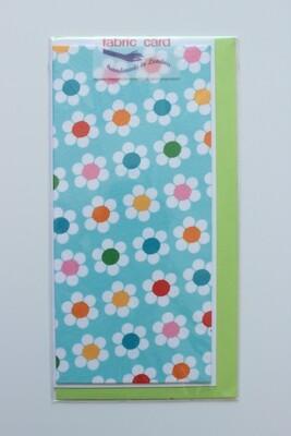 Fabric Card - Daisies