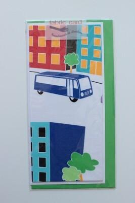 Fabric Card - City