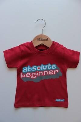 T Shirt - Absolute Beginner / Red