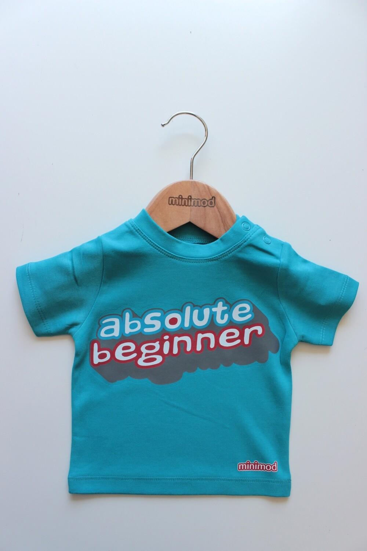 T Shirt - Absolute Beginner / Blue