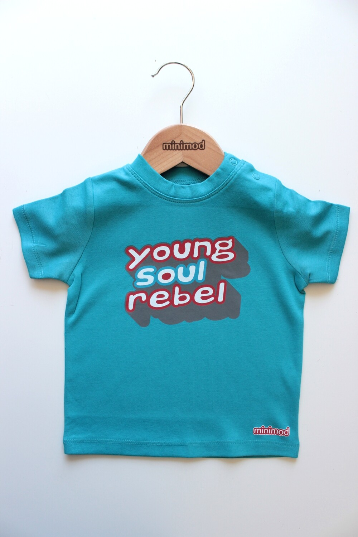 T Shirt - Young Soul Rebel / Blue