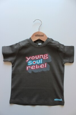 T Shirt - Young Soul Rebel / Khaki