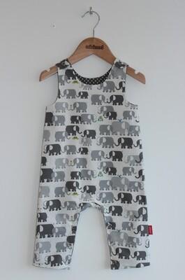 Playsuit - Grey Elephant