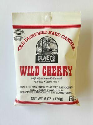 Claeys Wild Cherry Hard Candies