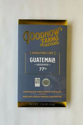 Goodnow Farms Guatemala Dark Chocolate Bar