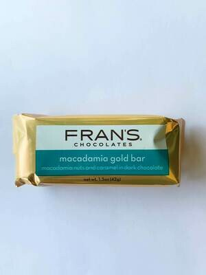 Fran's Macadamia Gold Bar