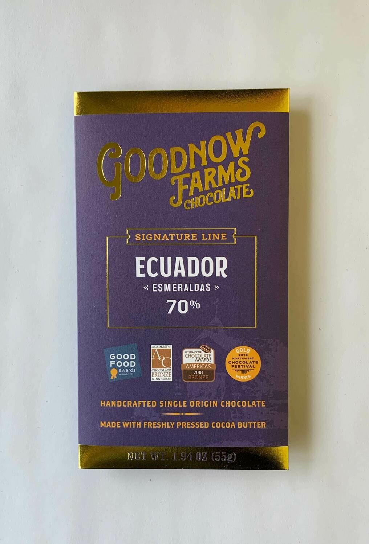 Goodnow Farms Ecuador 70%