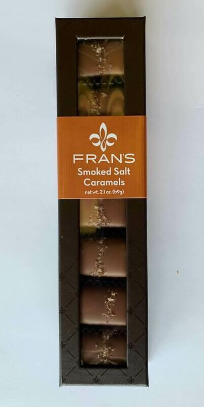Fran's Smoked Salt Caramels 7pc Window