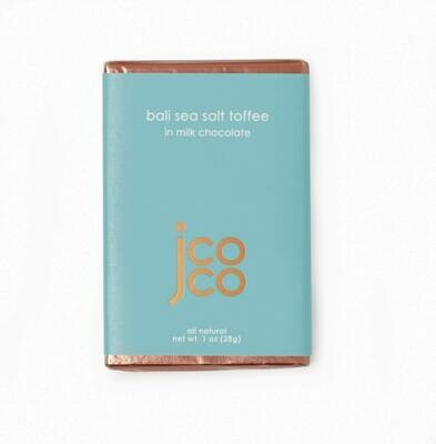 Jcoco Basil Sea Salt Toffee Bar