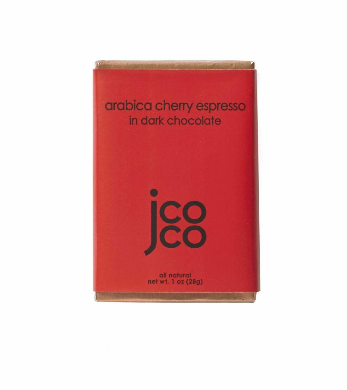 jcoco Chocolate Arabica Espresso in 60% Dark Chocolate