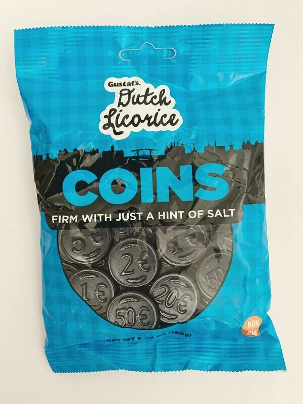 Gustafs Licorice Coins Bag