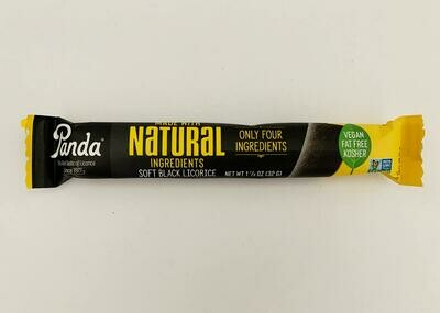 Panda Black Licorice Log