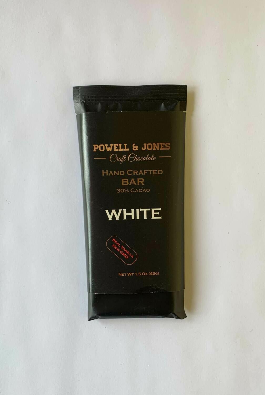 Powell and Jones White Chocolate Bar