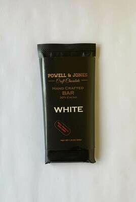 Powell and Jones White Chocolate Bar