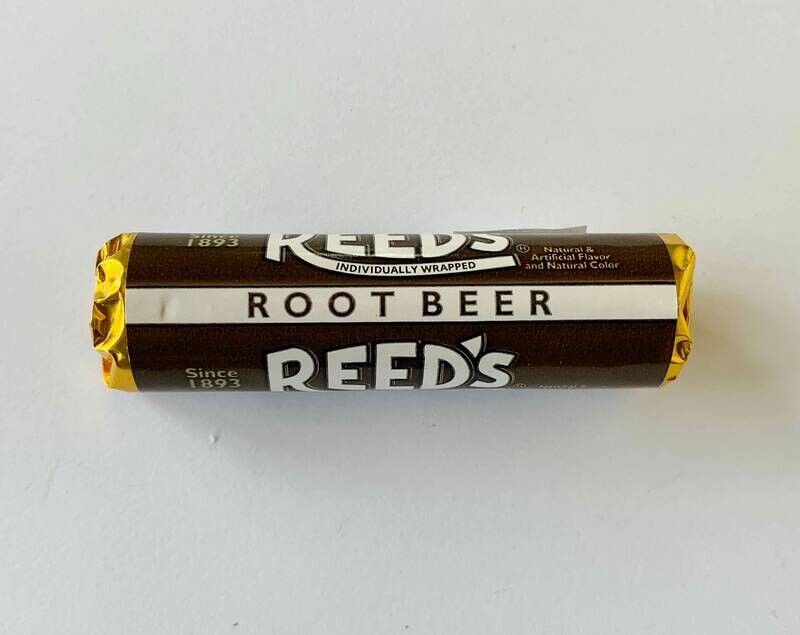 Reed's Root Beer Hard Candy Rolls