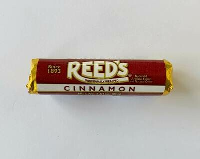 Reed's Cinnamon Hard Candy Rolls