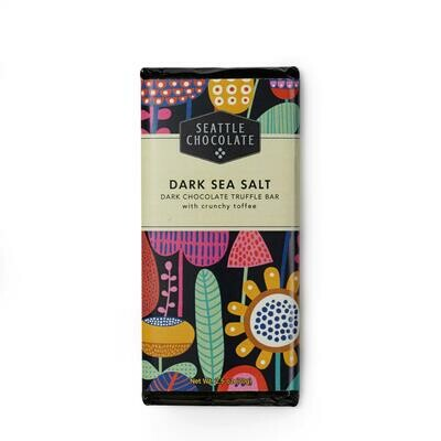 Seattle Chocolate Dark Sea Salt Toffee