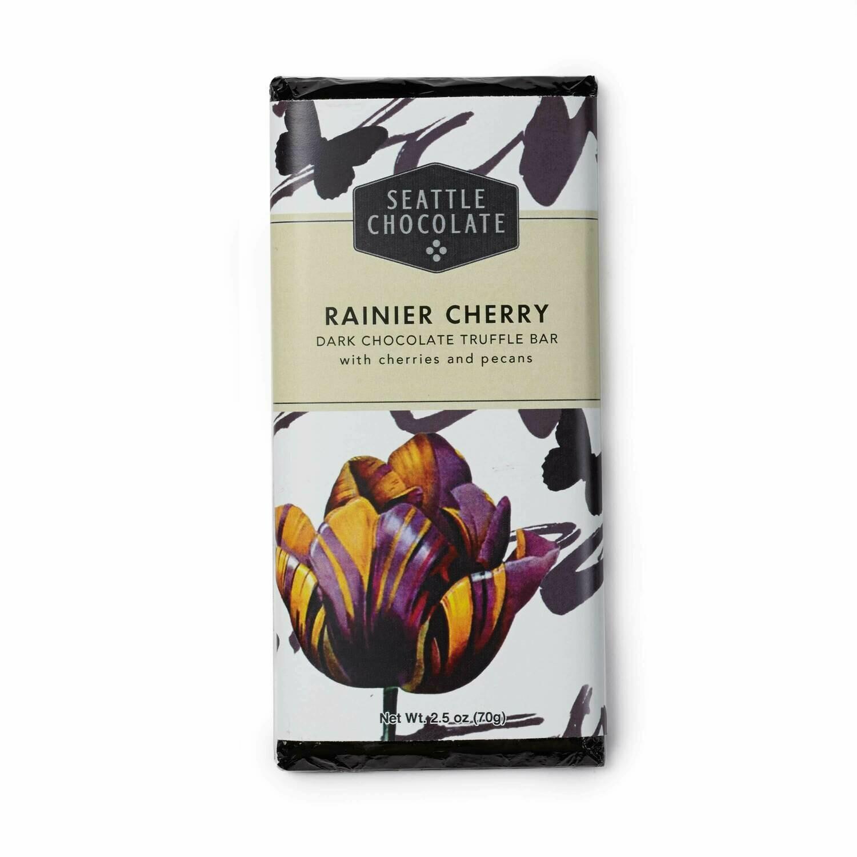 Seattle Chocolate Rainier Cherry Dark Chocolate Truffle Bar