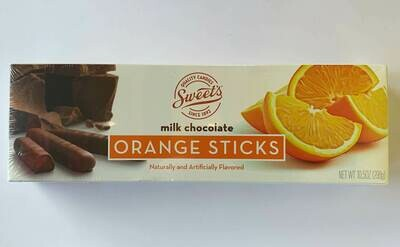 Sweets Milk Chocolate Orange Sticks