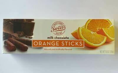 Sweets Milk Chocolate Orange Sticks