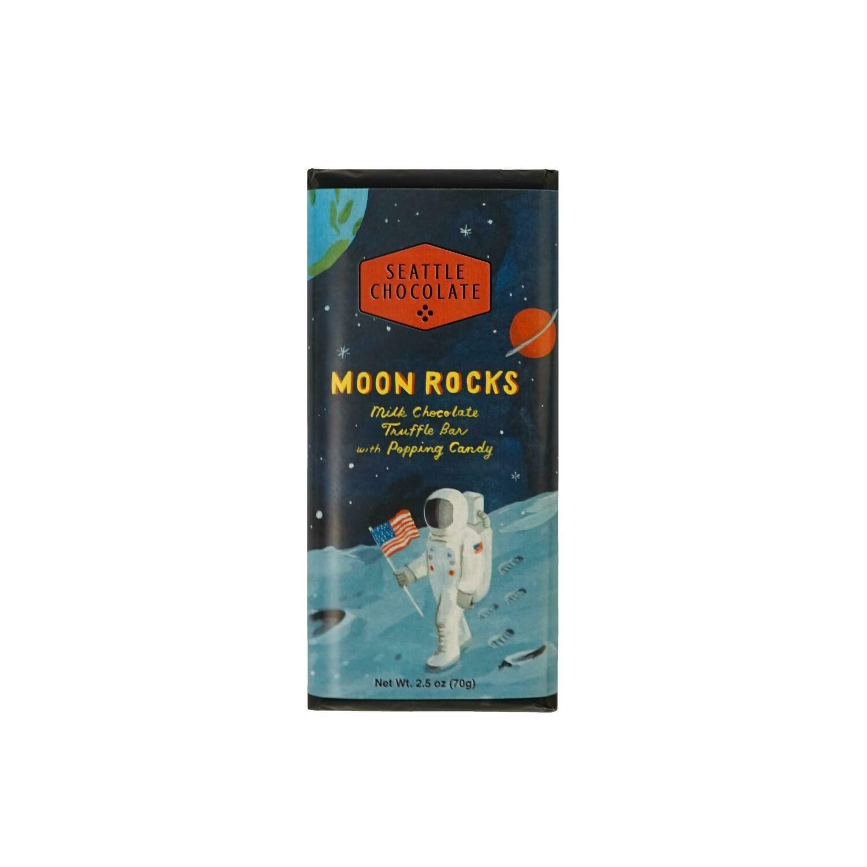 Seattle Chocolates Moon Rocks Milk Chocolate Truffle Bar
