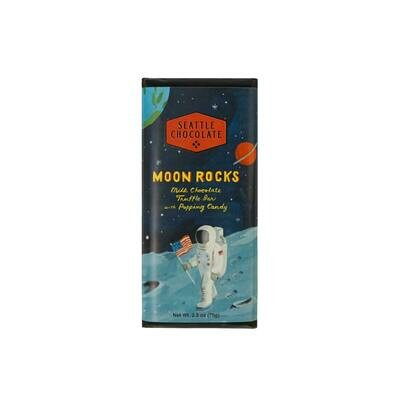 Seattle Chocolates Moon Rocks Milk Chocolate Truffle Bar