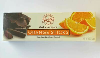 Sweets Dark Chocolate Orange Sticks