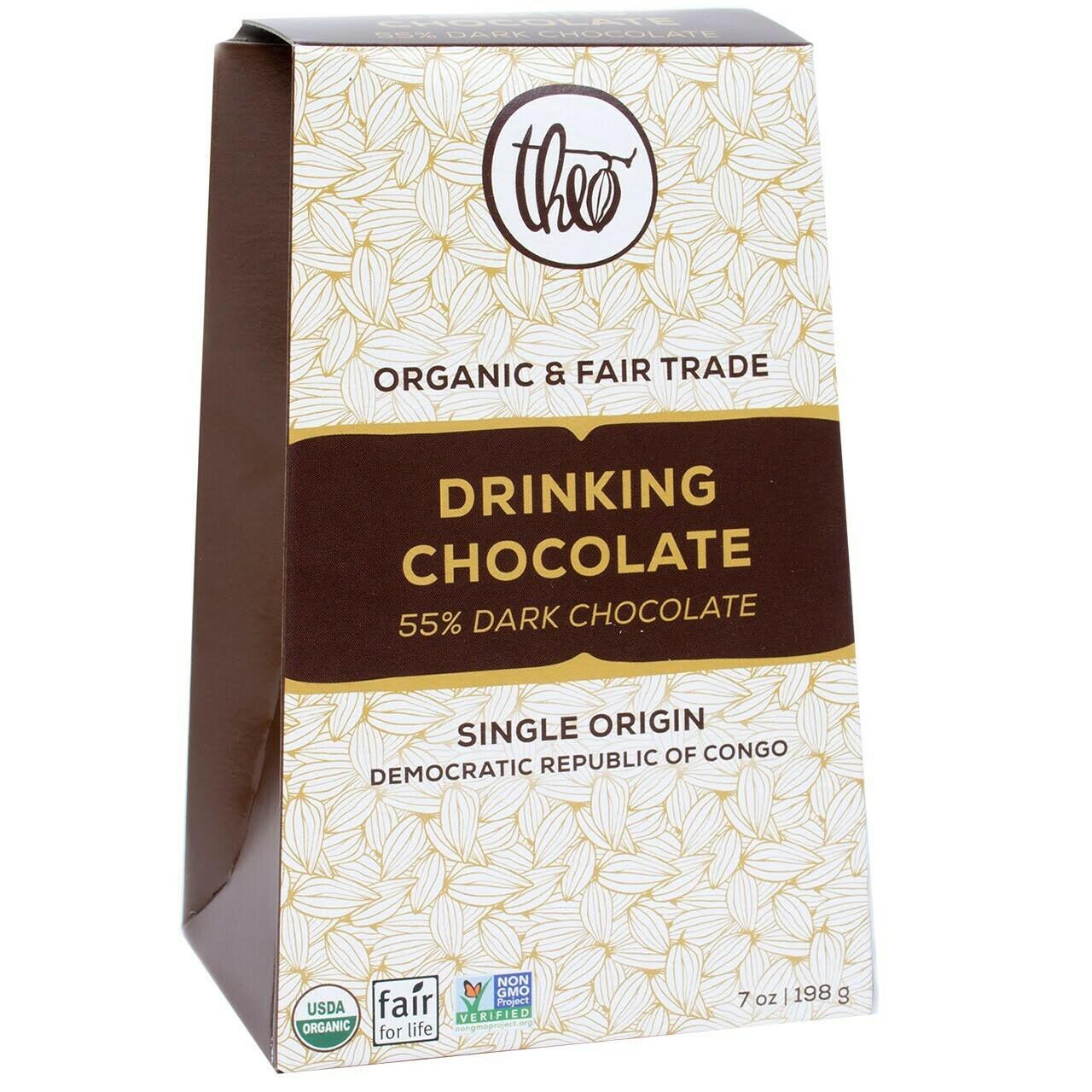Theo Drinking Chocolate 55% Dark Chocolate
