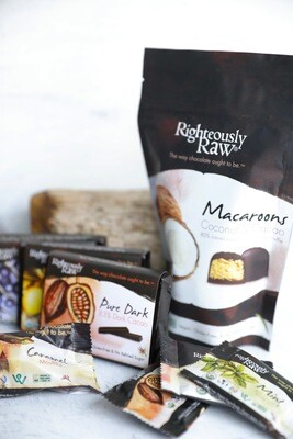 Righteously Raw Macaroons (Pouch)
