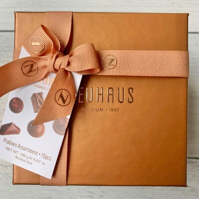 NH Sq Copper Gift Box 15 pcs