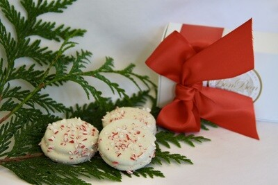 White Peppermint Cookie Trio