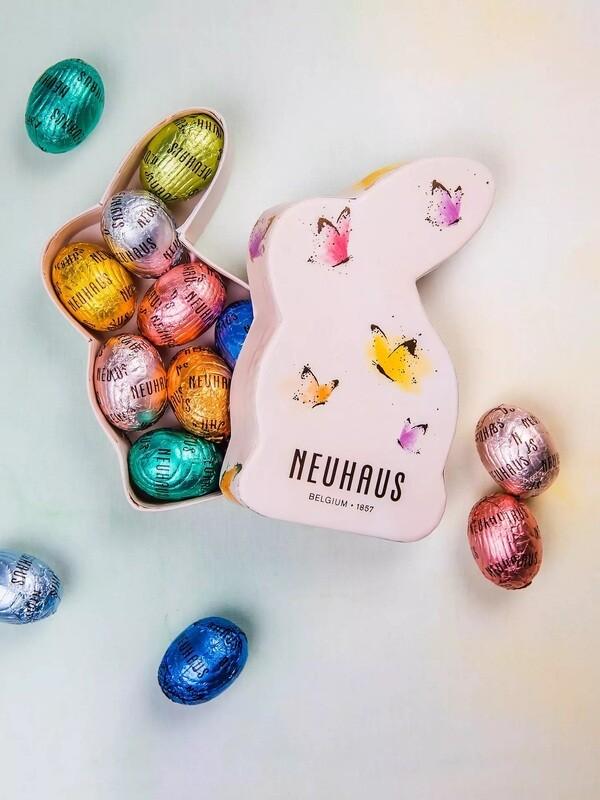 NH Peach Easter Bunny Box