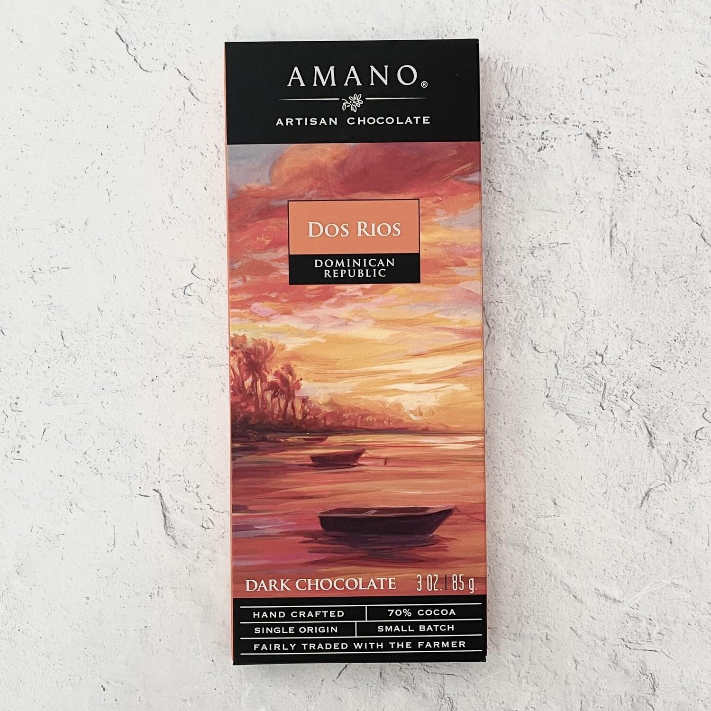 Amano Dos Rios 70% Chocolate Bar