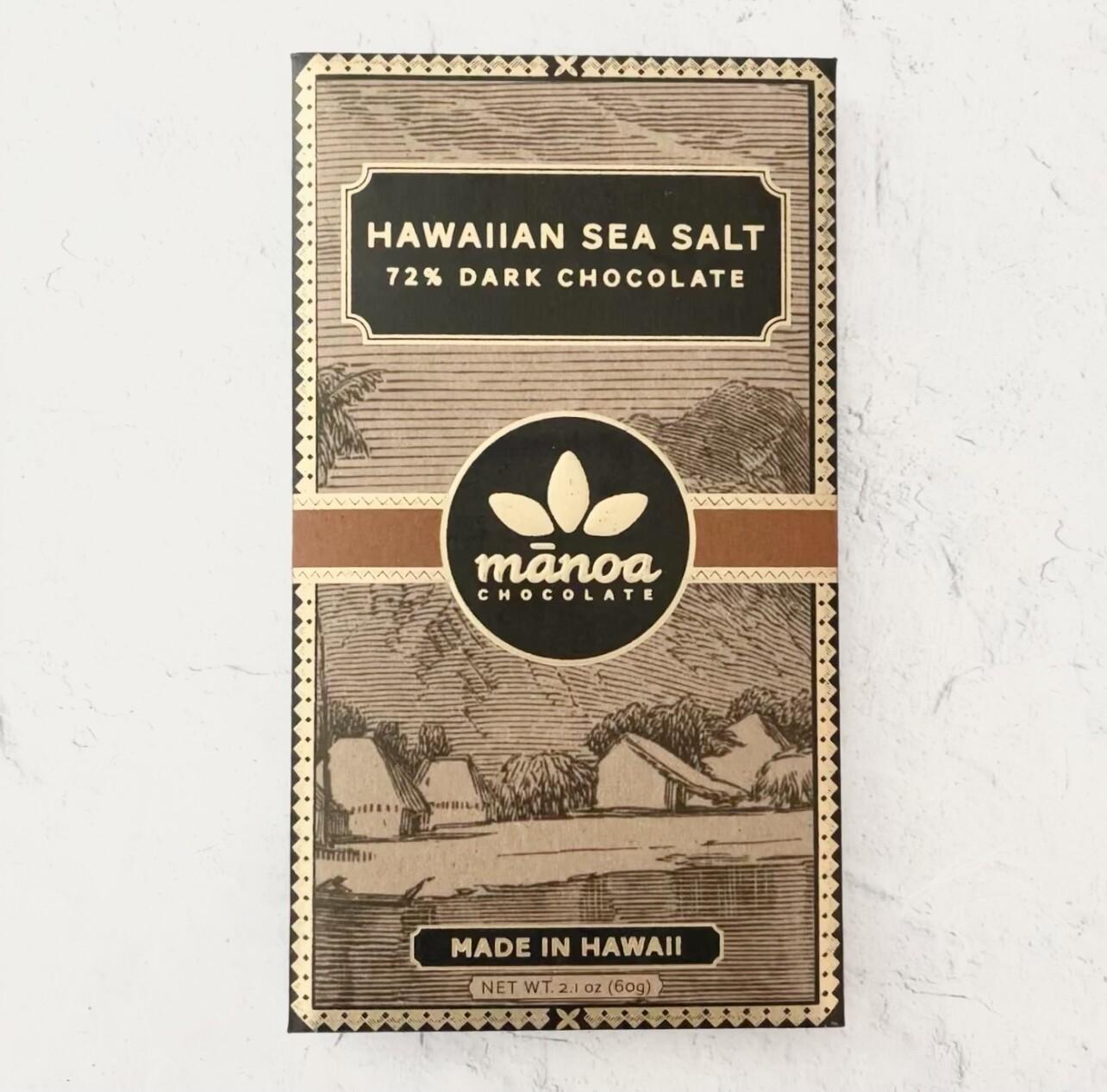 Manoa Hawaiian Sea Salt 72%