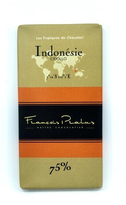 Pralus Indonesie Criollo 75%