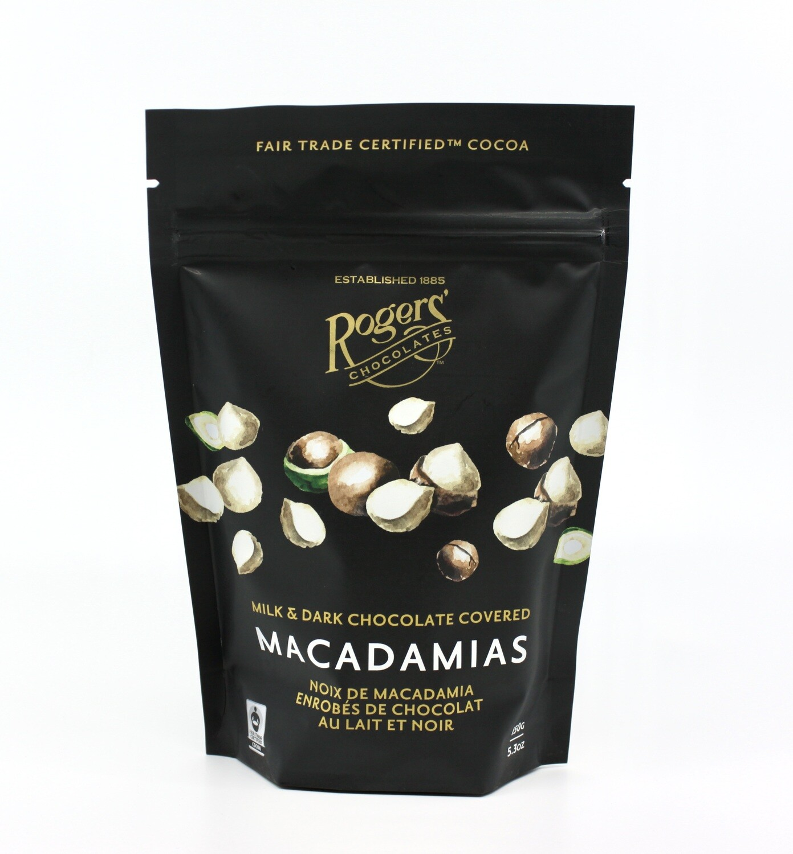 Rogers' MK/DK Choc Macadamias