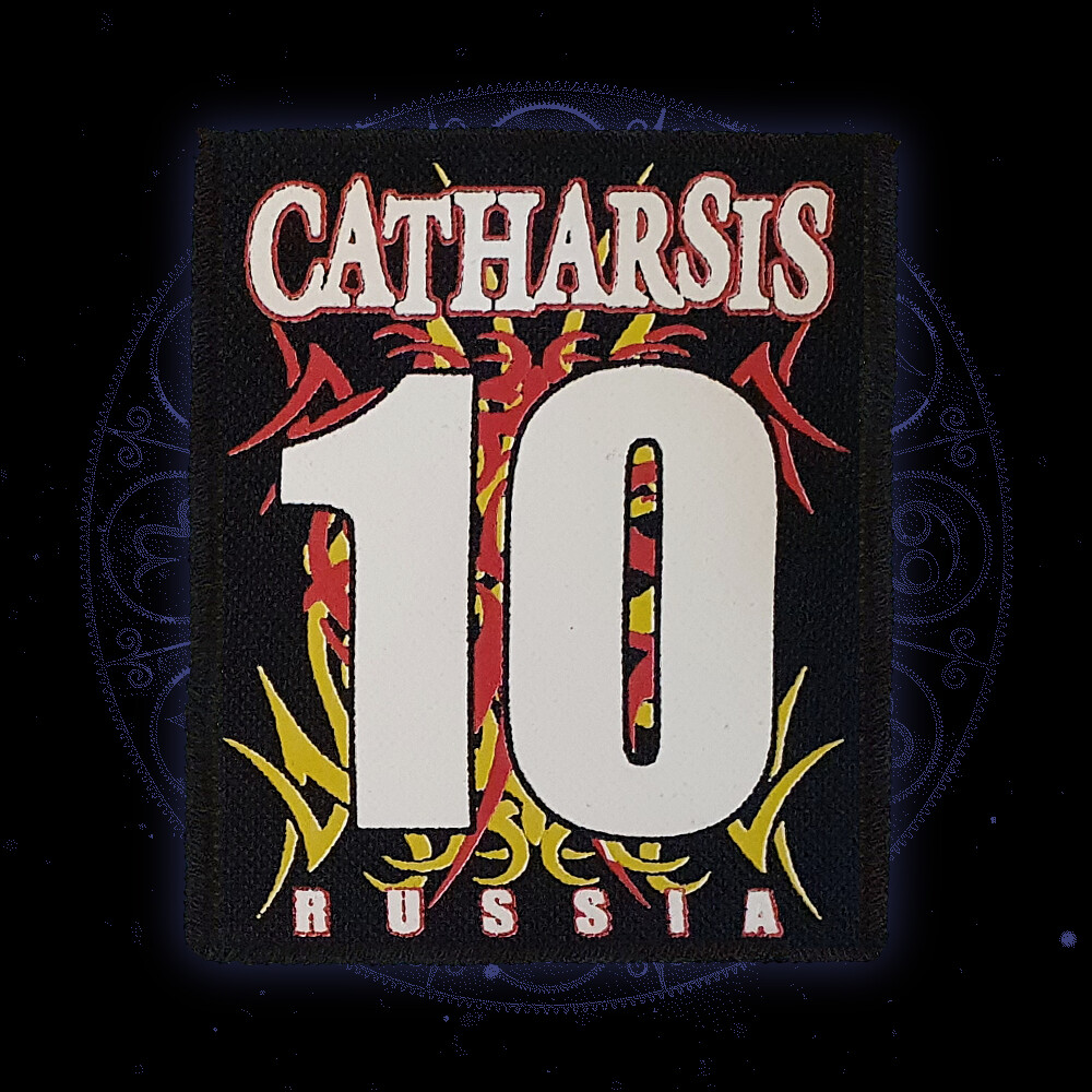 Нашивка 'CATHARSIS 10'