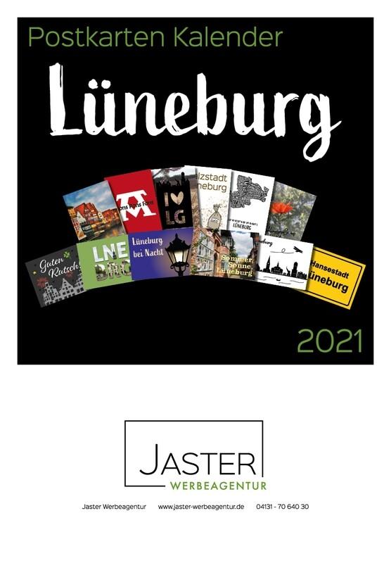 Postkarten Kalender Lüneburg