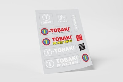 TEAMTOBAKI HD STICKERS SET