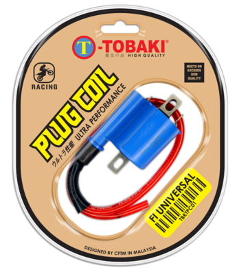 TOBAKI RACING PLUG COIL FUEL INJECTION UNIVERSAL