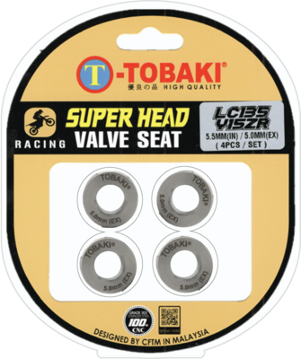 TOBAKI RACING SUPERHEAD VALVE SEAT