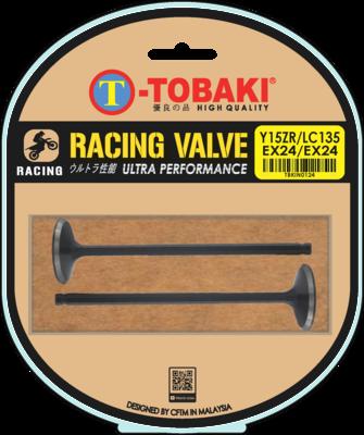 TOBAKI RACING VALVE IN & EX