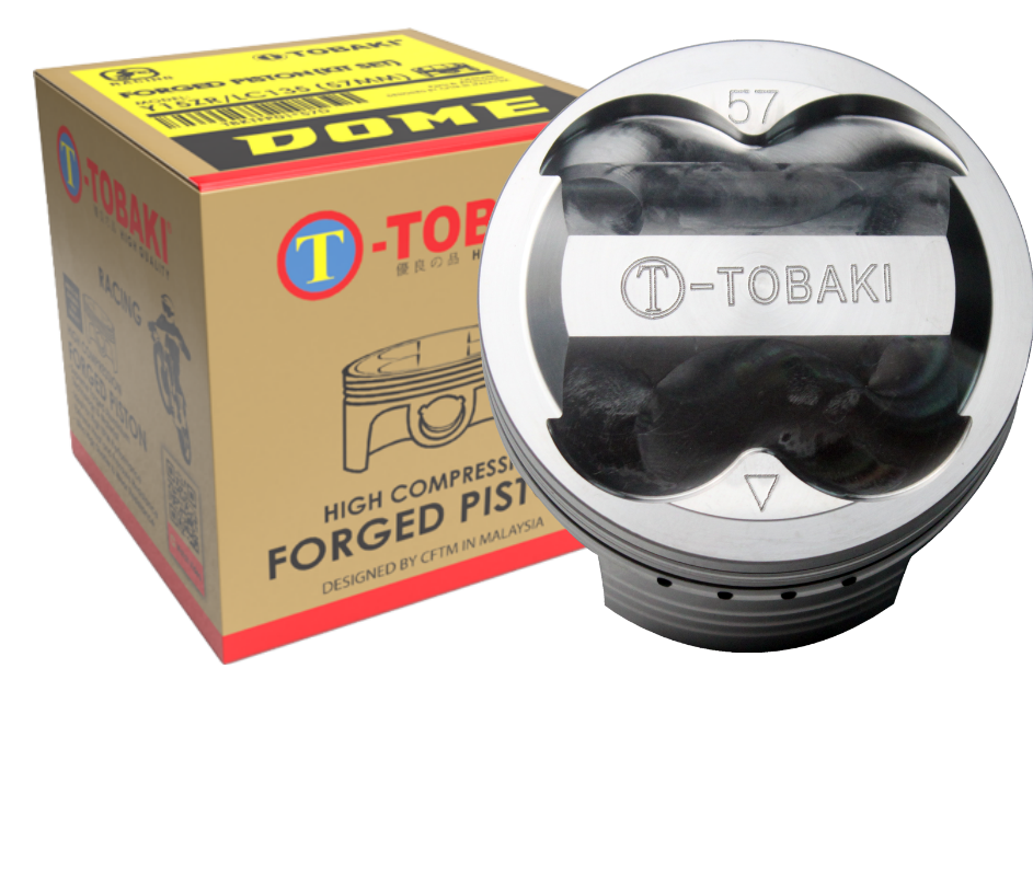 TOBAKI RACING FORGED PISTON Y15ZR/LC135