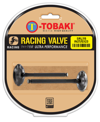 TOBAKI RACING VALVE (IN27/EX23) (IN28/EX24)