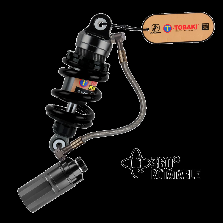 TOBAKI RACING GAS MONOSHOCK Y16ZR/Y15ZR/LC135 (ROTATABLE 360°)(GREY TANK)